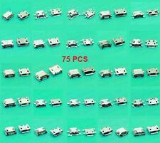 25 models 75 pcs set Jack Micro USB Charging port for phone tablet mobile.