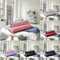 King/Queen Body Pillow Cover Soft Microfiber Long Pillow Case for Body Pillows