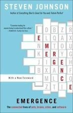 Emergence: The Connected Lives of Ants, Brains, Cities, and Software - Johnson