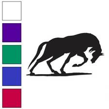 Horse Stallion Decal Sticker Choose Color + Size #894