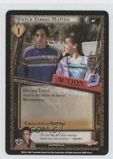 2001 Buffy the Vampire Slayer Collectible Card Game #41 Watch ZebrasMating 0b4