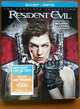 Resident Evil Collection (Blu-ray Disc, 2017, 6-Disc Set) Free. Shipping