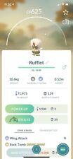 ✨ Shiny Rufflet Pokemon Go Mini Acc