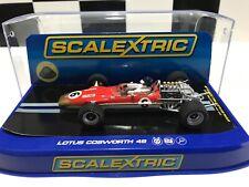 Scalextric Classic C3311 Team Lotus 49 Jim Clarke #6 Gold Leaf