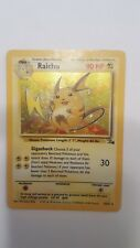 Raichu 14/62 Fossil Set Holo Rare Pokemon Card  NM/Mint