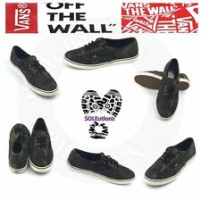 VANS Authentic Lo Pro Camo Military Olive Marshmallow W6.5