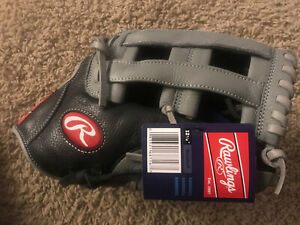 """RAWLINGS SELECT SERIES 12 1/2"""" BASEBALL GLOVE LEATHER NEW WITH TAGS WRS125HBGG"""
