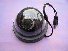 Security Dome CCTV Camera 3.6mm Lens Night Vision Sony 1/3'' 1200TVL Black Cover