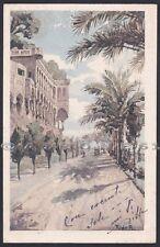 GENOVA CITTÀ 718 Illustratore RAIMONDI Cartolina viaggiata 1920