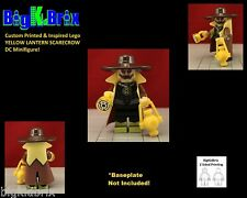 SCARECROW Yellow Lantern Custom Printed & Inspired Lego DC Minifigure