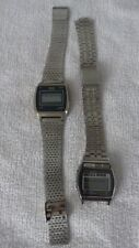 LOT DE 2 MONTRE DIGITALE SEIKO - TEXAS INSTRUMENTS  -  A SAISIR