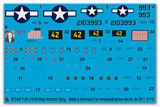 Peddinghaus 2467 1/72 P 38 j-15-lo Major Richard i Bong pacifik