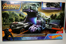 Marvel Comic Black Panther Infinity War Hot Wheels Car Command Center Europe New