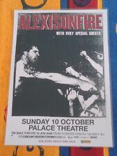 ALEXISONFIRE - 2010 Australian Tour -  Laminated  Promo Tour Poster