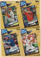 2019 TOPPS BIG LEAGUE BLASTER BOX EXCLUSIVE Bryant Soto Ohtani Trout 4 CARD LOT