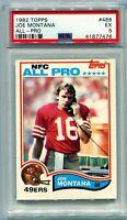 1982 Topps #488 Joe Montana All-Pro PSA 5 SF 49ers HOF 2nd Year Card
