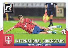 2015 DONRUSS SOCCER INTERNATIONAL SUPERSTARS #80 NEMANJA MATIC SERBIA *8016