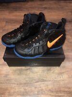 New Nike Air Foamposite Pro Knicks Size 8.5 Men's Basketball Shoes 624041-010