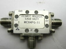 REMEC Magnum Microwave RF DoubleBalance Mixer MC64PG  6-12.5GHz +10dBm  SMA