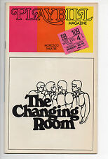 The Changing Room Morosco Theatre Playbill 1973 John Lithgow Louis Breachner VG