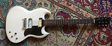 1966 67 GIBSON SG MELODY MAKER MOJO RELIC ARTIC WHITE FINISH EASY PROJECT WHO