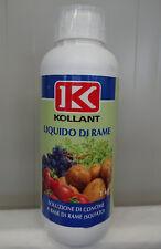 KOLLANT LIQUIDO RAME soluzione concime rame solfato liquido ramato 1kg