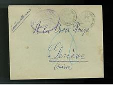 1940 France Concentration Internment Camp de Gurs prisoner Cover to Red Cross