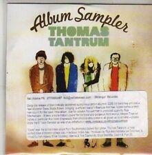 (CB656) Thomas Tantrum, Album Sampler - DJ CD