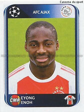 N°457 EYONG ENOH # CAMEROON AJAX UEFA CHAMPIONS LEAGUE 2011 STICKER PANINI