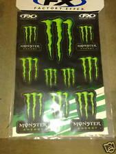 Factory Effex Fx Monster Energy Mx Mtb Motocross Logo Sticker hoja de calcomanías Mx