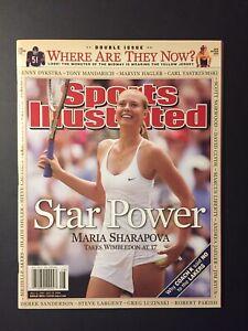 MARIA SHARAPOVA Wimbledon 2004 Sports Illustrated No Label  NEWSSTAND Issue GEM?