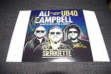 UB40 Ali Campbell signed Autogramme auf 20x30 cm Foto InPerson LOOK