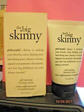 PHILOSOPHY The Big Skinny Self Tanning Firming Cream - 113g/4oz TUBE NEW in BOX