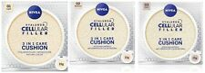 Nivea 3 in 1 Cushion Hyaluron Cellular Foundation Concealer Anti-Age Wrinkle