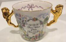 Fine English Royal Commemorative china mug, Birth of Prince William June 21 1982