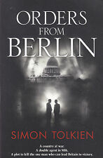 SIMON TOLKIEN - orders from berlin BOOK