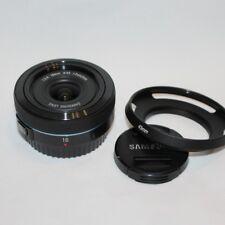 Samsung NX F2.4 I-función Lente 16mm (Negro)