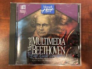 Microsoft Multimedia Beethoven: The Ninth Symphony (PC, 1994) Sealed