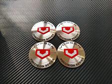 4x 65mm VOSSEN Sticker Stickers Decal Badge For Center Caps Hub Cap Wheel Rim