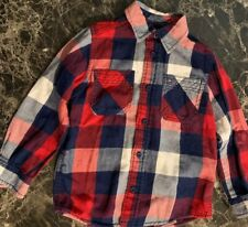 tommy hilfiger Boys Dress Shirt Cotton 4T Long Sleeves ..#4