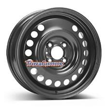 KIT 2 PZ CERCHI IN FERRO Nissan Note II 5.5Jx15 4x100 ET40