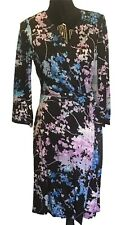 DIANE VON FURSTENBERG Women's New Julian Two Floral Daze Wrap Dress Size 10