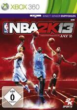 XBOX 360 NBA 2k13 Basket tedesco OVP come nuovo