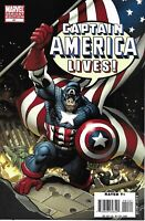 Captain America Comic 41 Cover B Incentive Monkey Variant First Print Brubaker