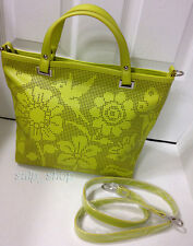 BRACCIALINI TUA /Faux Leather/Colibri in Acid Green/Bag Purse Handbag/New