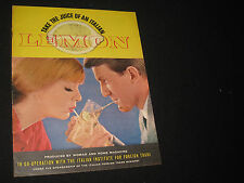 1960s WOMAN and HOME MAGAZINE recipe booklet TWIST of LEMON
