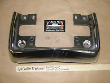 OEM 64 Cadillac Fleetwood FRONT BUMPER LICENSE PLATE SURROUND MOUNT 1964