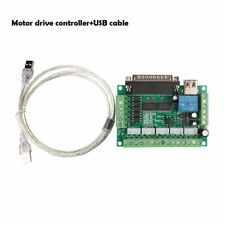 5 Axis CNC Interface Board For Stepper Motor Driver Controller Arduino+USB cable