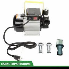 Self Priming Oil Pump 16GPM Fuel Transfer Pump Diesel Kerosene Biodiesel 110V AC