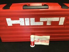 HILTI CASE FOR TE 905-AVR,PREOWNED, GREAT CONDITION, DURABLE, FAST SHIPPING